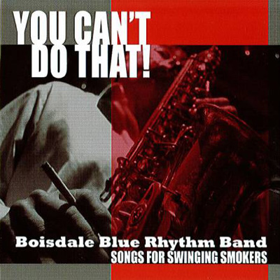 Bosdale Blue Rhythm Band - You can't do that! album cover